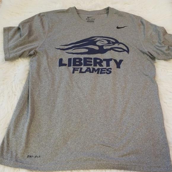 fc944466 Liberty University Nike Dri-Fit Shirt Size Medium.  M_5b96b5bcd6dc524b71278dc2
